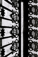Shadows on a Plantation Grate